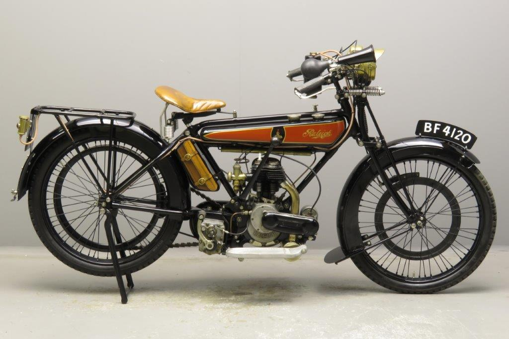 Raleigh 1924 Model 2  2¾hp 350cc 1 cyl sv  2811