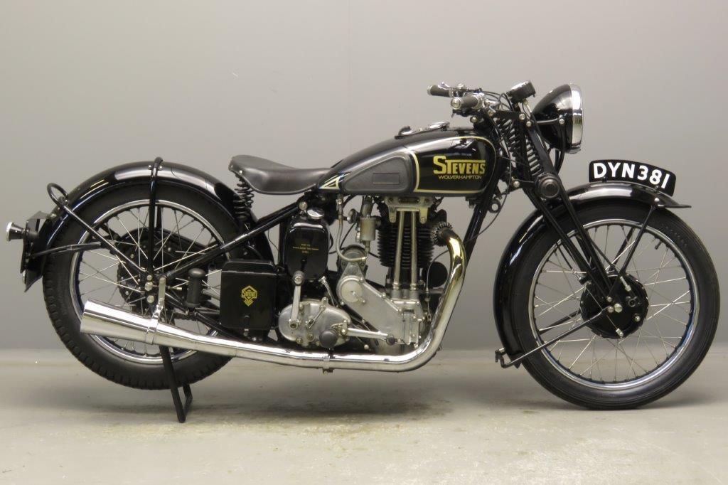 Stevens 1937 Model LP5 500cc 1 cyl ohv  2811