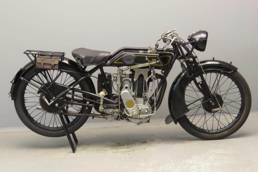 Sunbeam 1927 Model 9 500cc 1 cyl ohv  2811