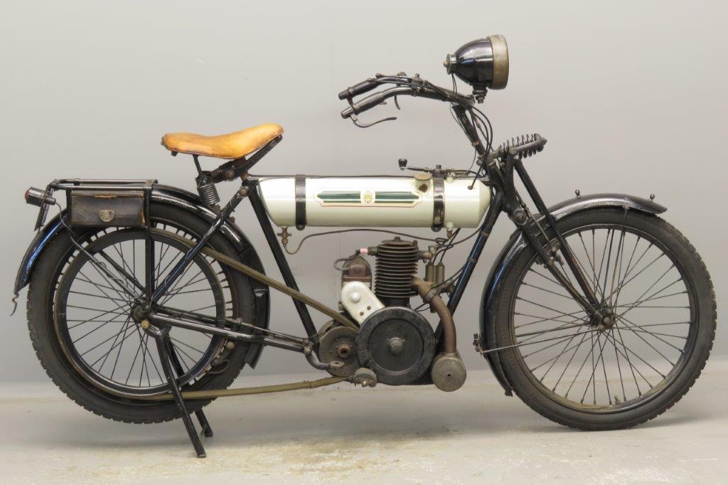 Triumph 1924 LW 249cc 1 cyl ts  2811