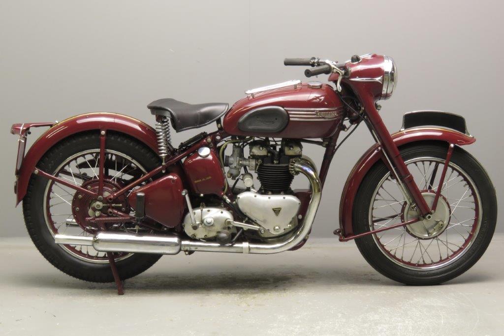 Triumph 1953 Speed-Twin 500cc 2 cyl ohv  2810