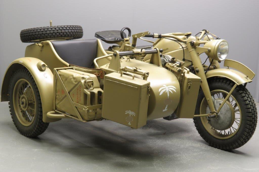 Zündapp 1943 KS750 750cc 2 cyl ohv  2811