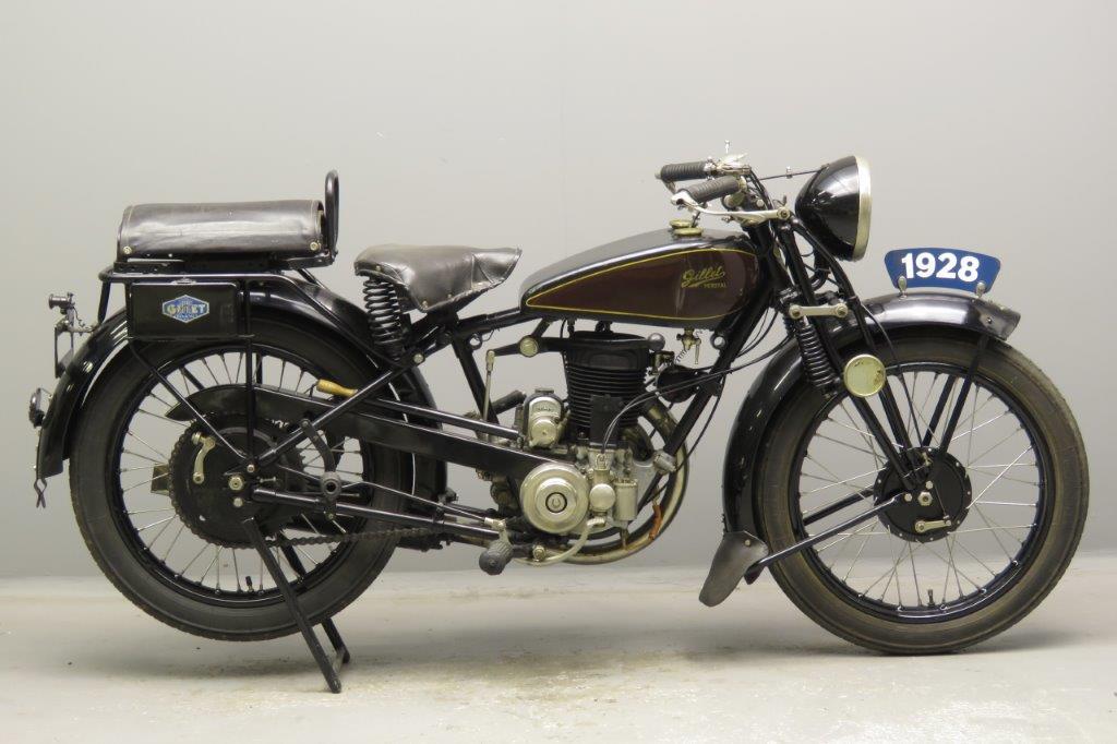 Gillet 1928 Tour du Monde 350cc 1 cyl ts  2812