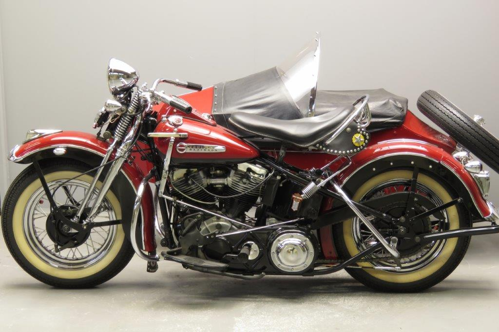 Harley Davidson 1948 48F 1207cc 2 cyl ohv 2812