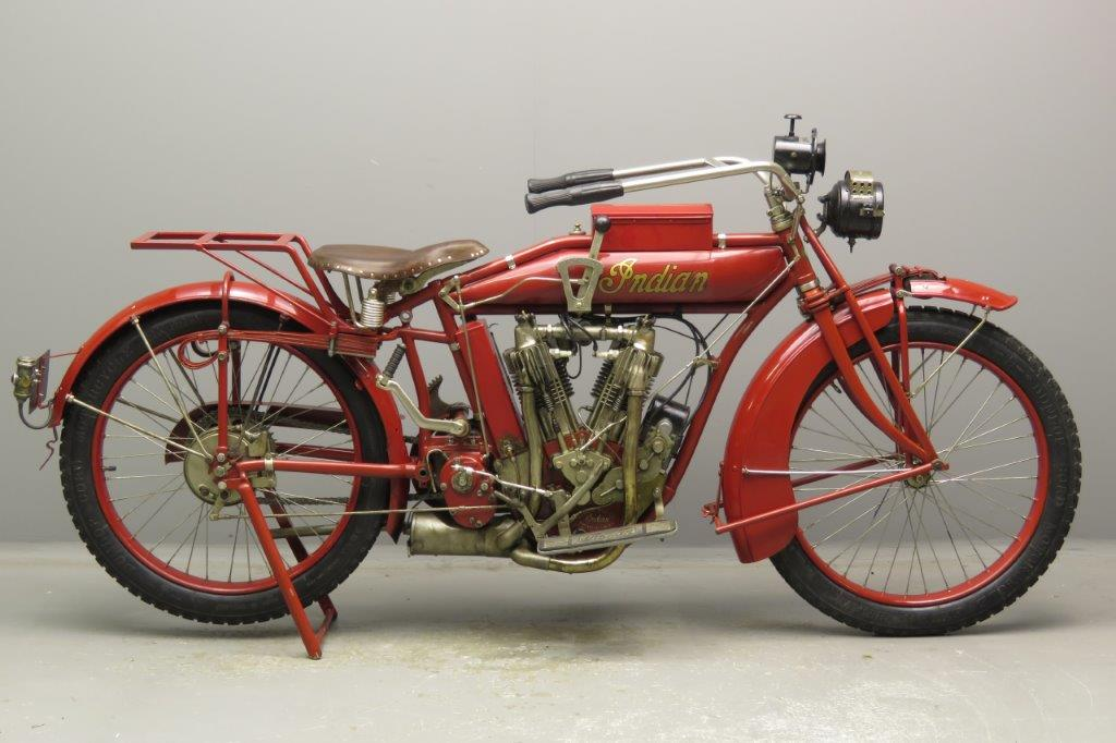 Indian 1915 Model C 994cc 2 cyl ioe 2812 - Yesterdays