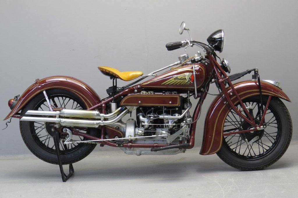 Indian 1937 Model 437 1264cc 4 cyl   2812