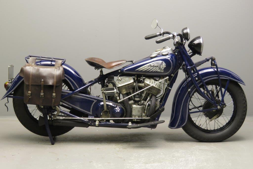 Indian 1938 Chief  1207cc 2 cyl sv  2812