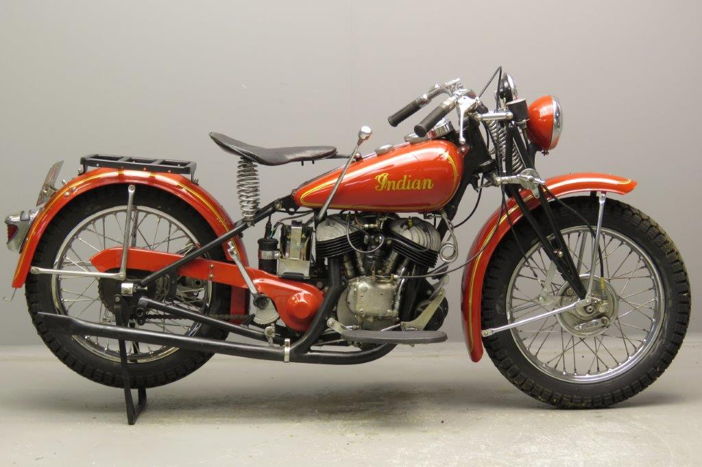 Indian 1941 Model 741 500cc 2 cyl sv 2812