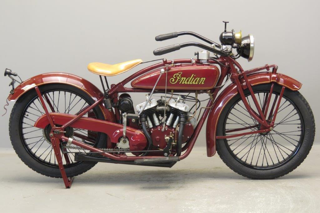 Indian 1925 Scout 600cc 2 cyl sv  2812