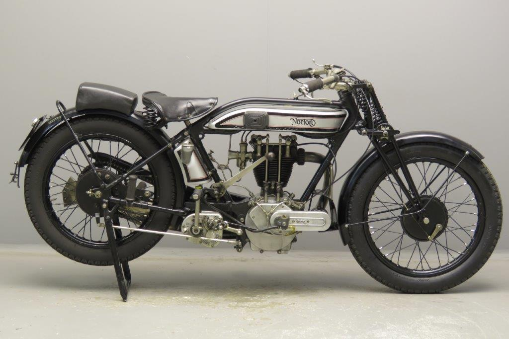 Norton 1927 Model 18 500cc 1 cyl ohv  2812