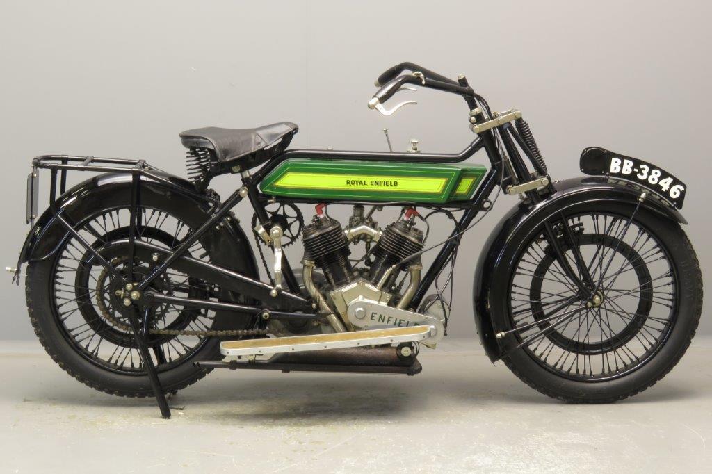 Royal Enfield 1920 Model 180  770cc 2 cyl sv  2812