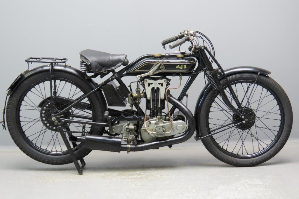 AJS 1924 Bigport  350cc 1 cyl ohv  2901