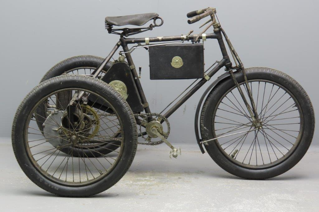 De Dion Bouton 1897 Tricycle 2901