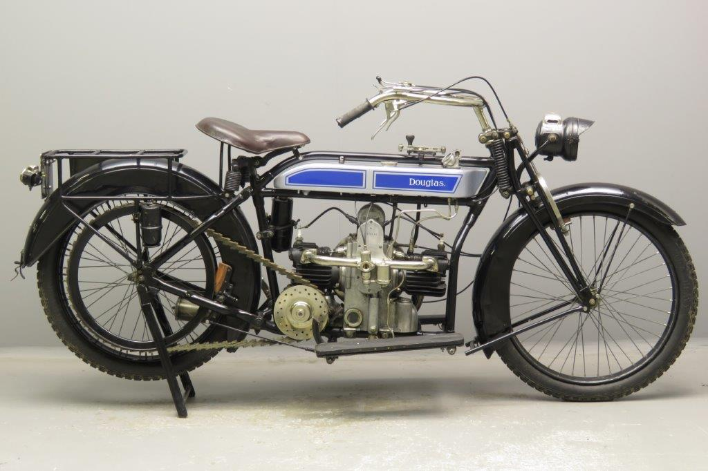 Douglas 1918 4hp 596cc 2 cyl sv  2901