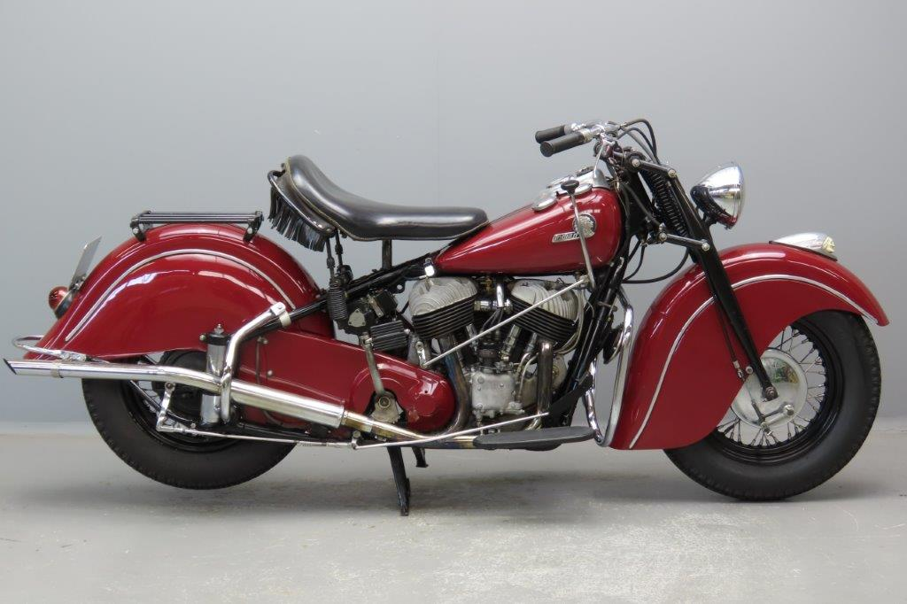 Indian 1946 Chief 1200cc 2 cyl sv  2901