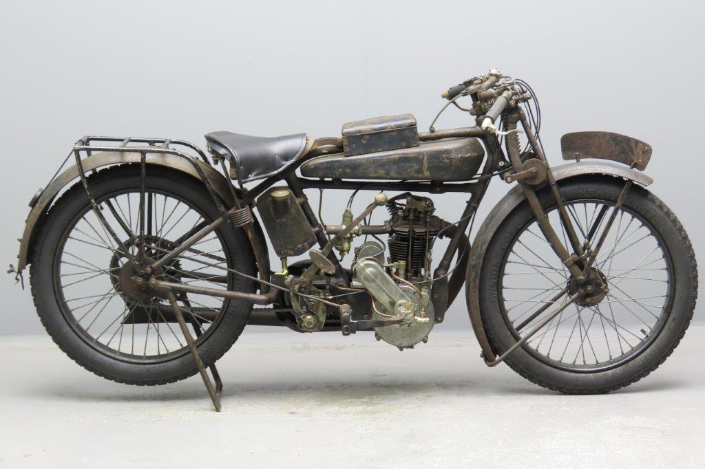 Motosacoche 1926  Franconi 248cc 1 cyl ohv  2901