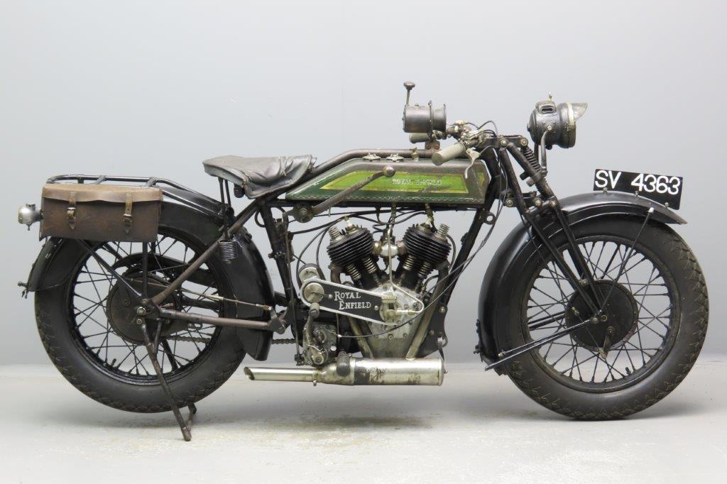 Royal Enfield 1926 Model 180 1000cc 2 cyl sv  2901