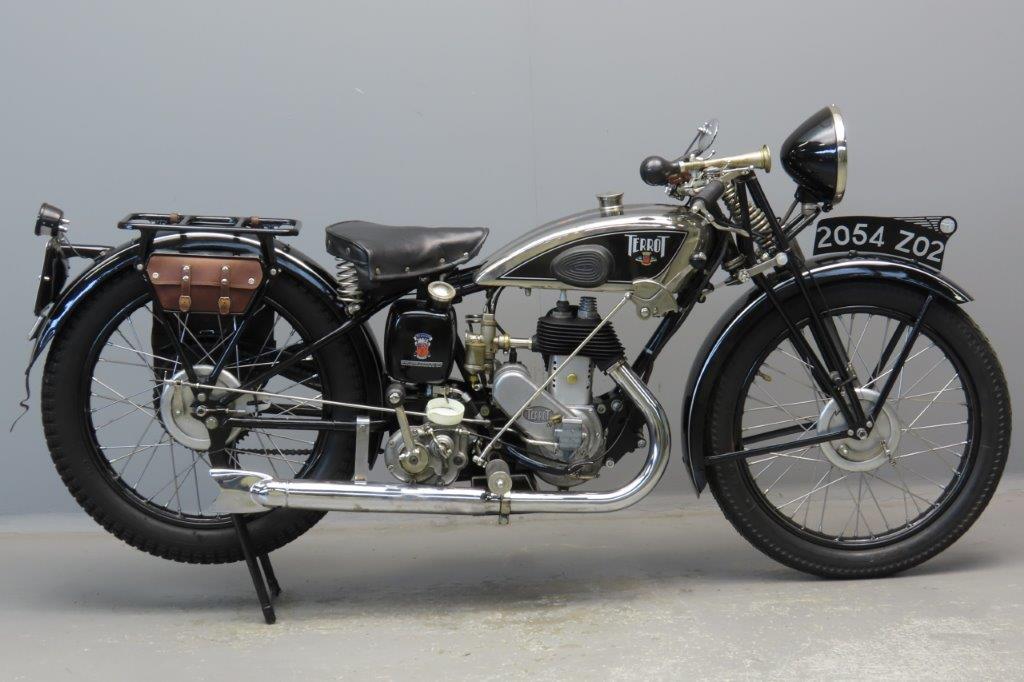 Terrot 1934 Model Pu 225cc 1 cyl sv  2901