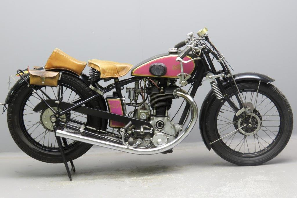Gillet 1930 Competition Bol d'Or 500cc 1 cyl ohv  2902