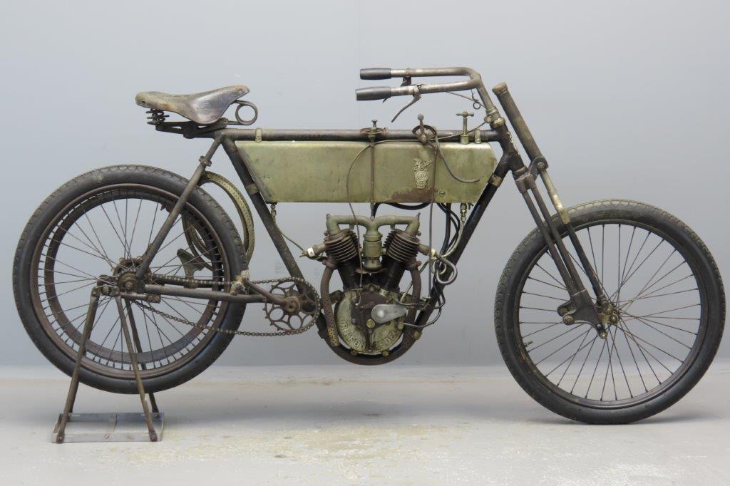 Griffon 1906 3½hp 493cc 2 cyl aiv  2902