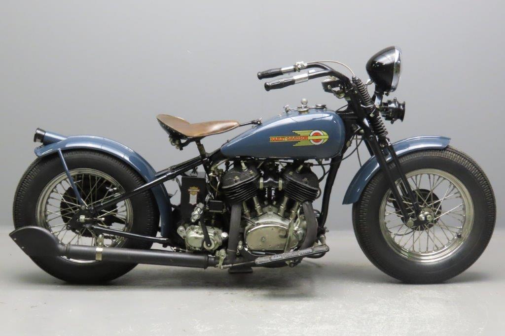 Harley Davidson 1930 V Bobber 1208cc 2 cyl sv  2902