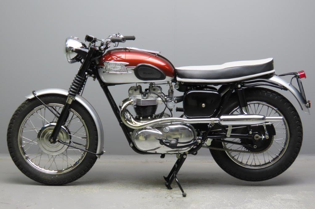 Triumph 1961 Tr6ss 650cc 2 Cyl Ohv 2902