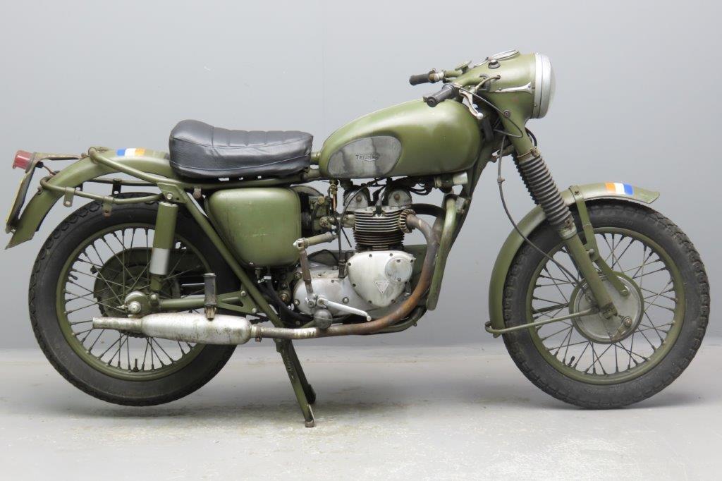 Triumph 1967 3TA 350cc ohv 2 cyl  2902