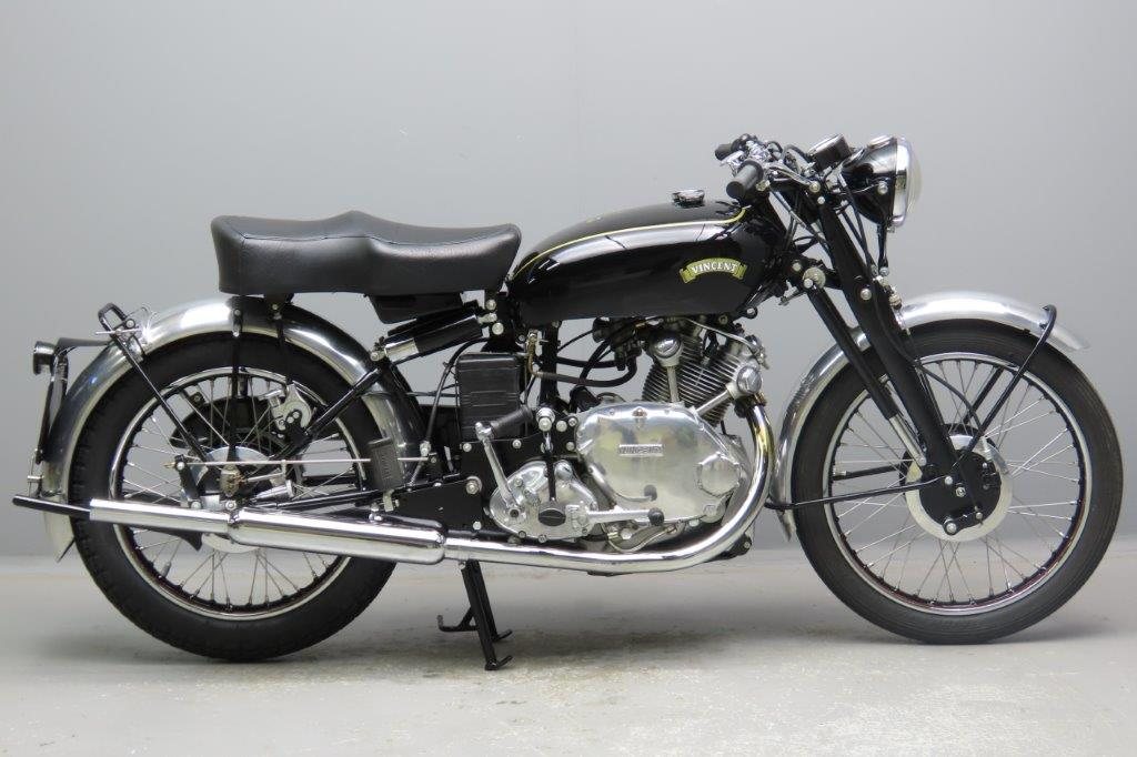 Vincent 1951 Comet 499cc 1 cyl ohv  2902