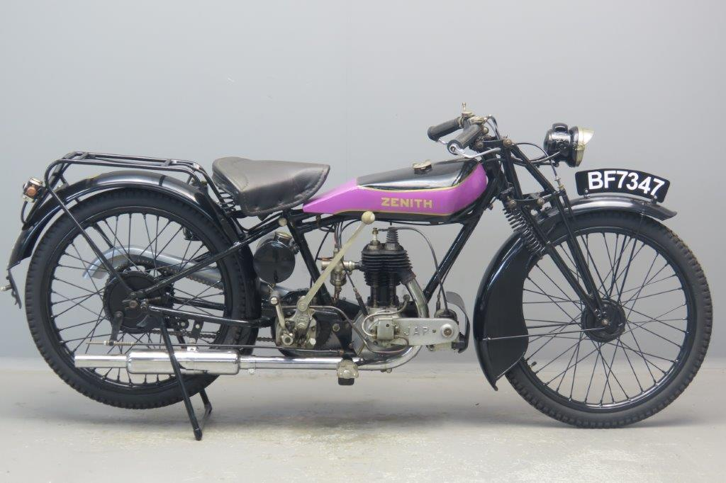 Zenith 1928 Model 24 300cc 1 cyl sv  2902