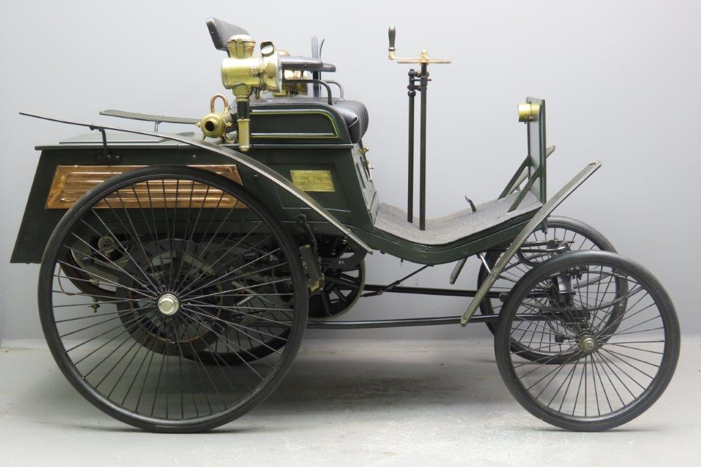 "Benz ca. 1896 ""Velo"" 1½ HP 1045cc single AIV   2903"