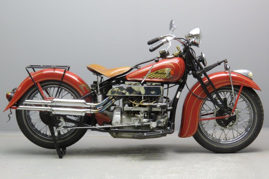 Indian 1936 436 1265cc 4 cyl EOI  2903