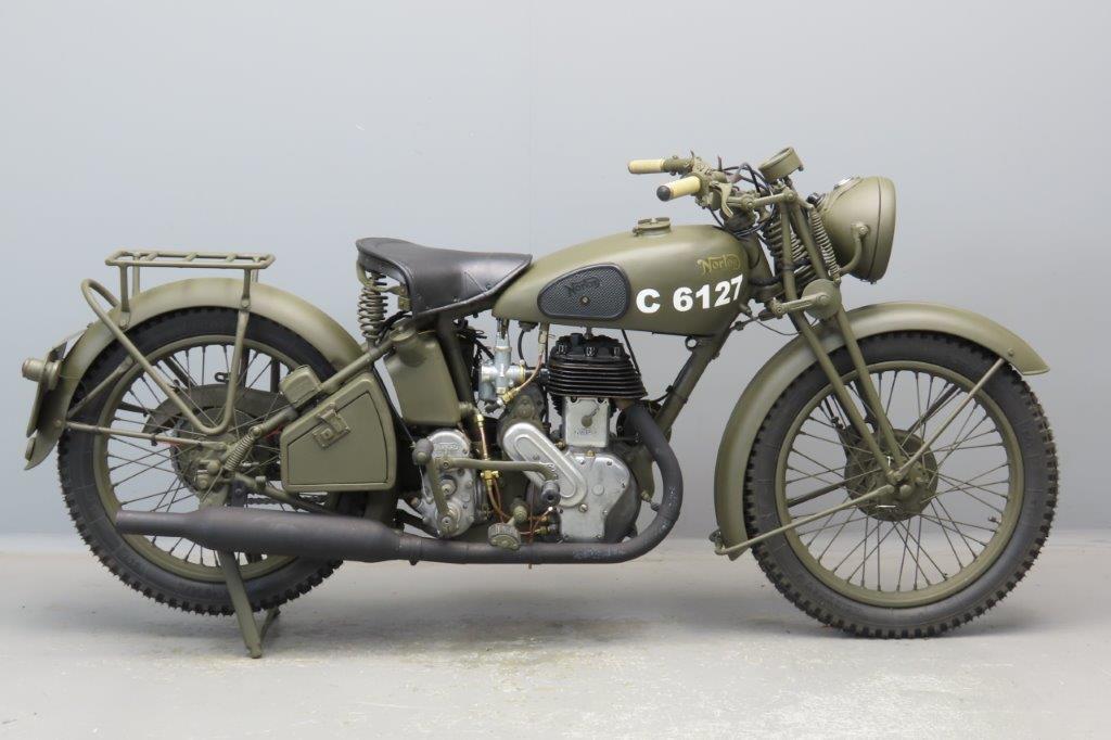 Norton 1939 16H 500cc 1 cyl sv  2903