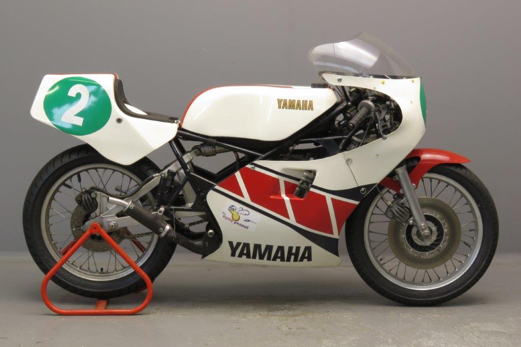 Yamaha 1981 TZ 250 H 5F7  250 cc two stroke twin No 2  2811