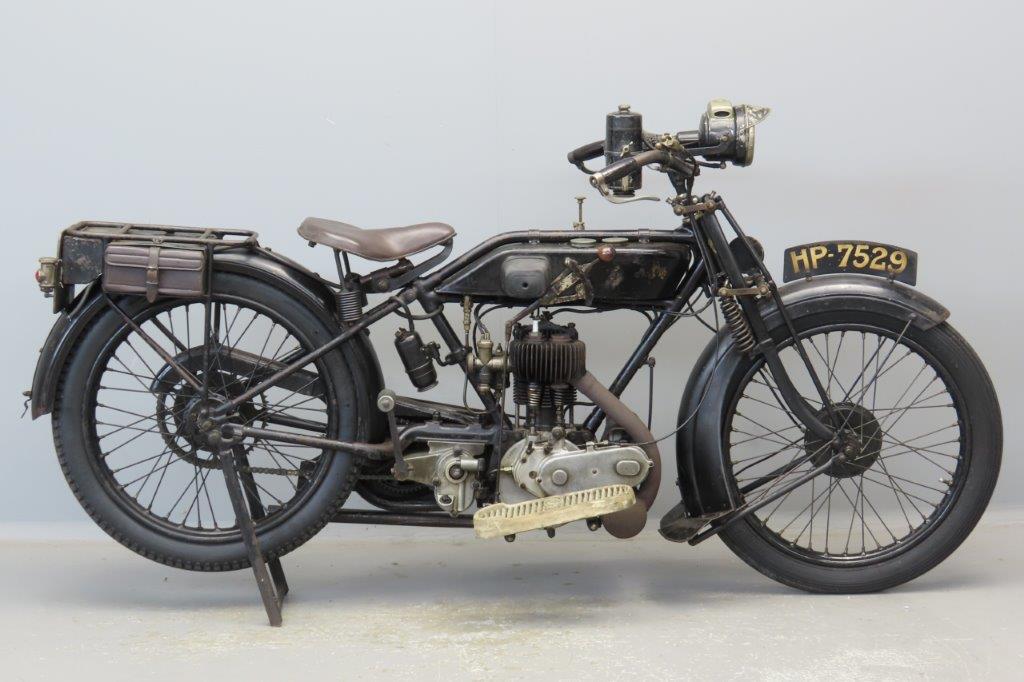 AJS 1924 model B 349cc 1 cyl sv  2904