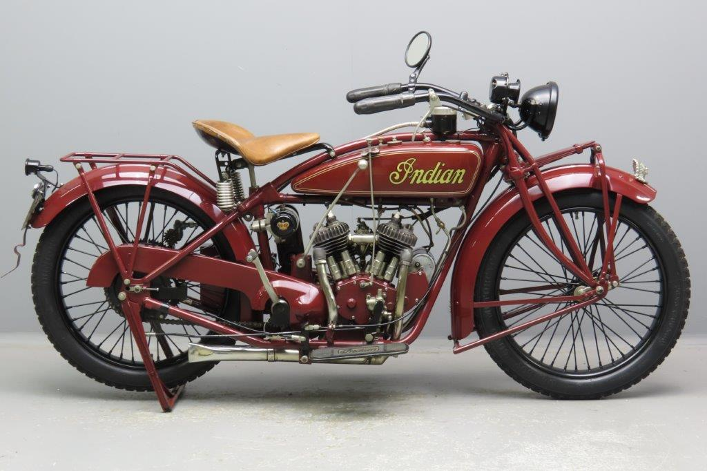Indian 1924 Scout 600cc 2 cyl sv  2904