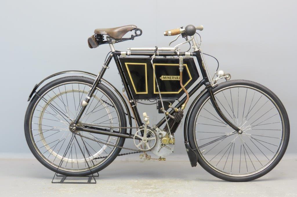 Minerva 1901 ¾hp 172cc 1 cyl aiv  2904