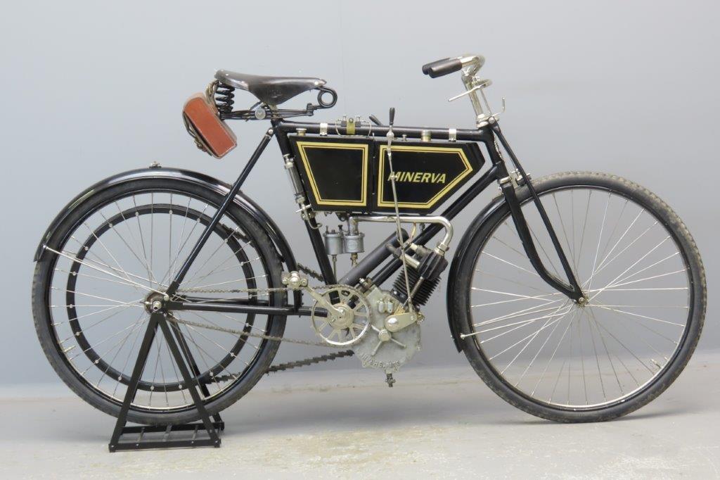 Minerva 1902 2hp 269cc 1 cyl aiv  2904