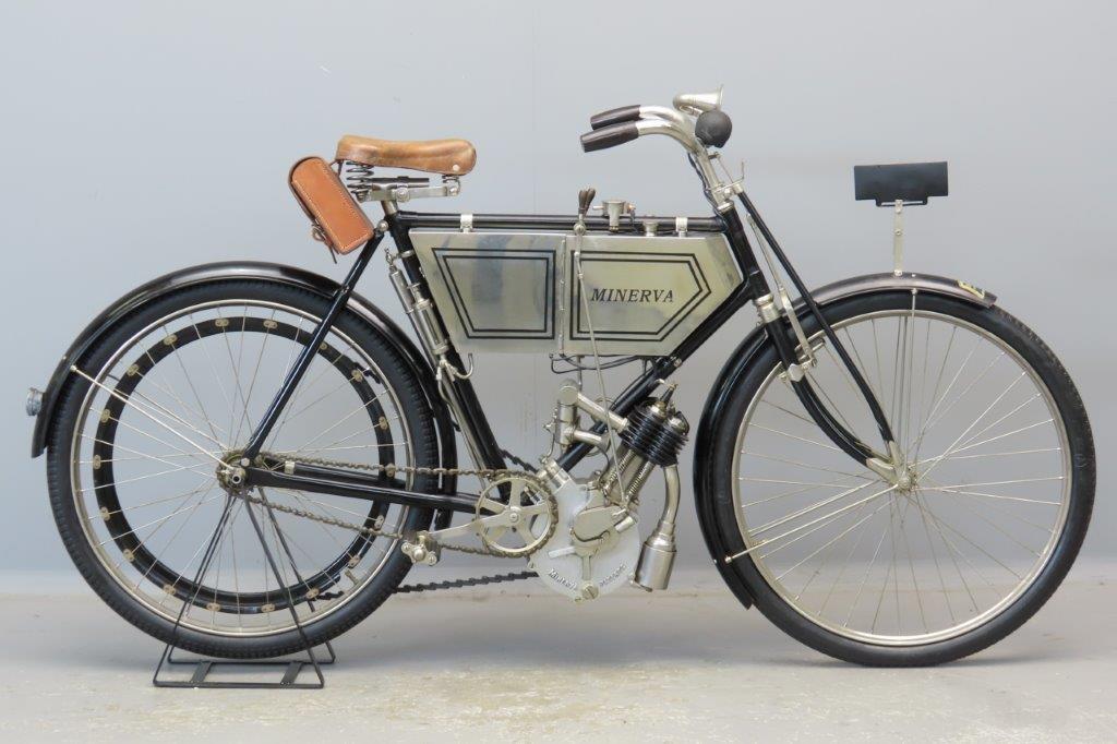Minerva 1903 2 hp 239cc 1 cyl sv  2904