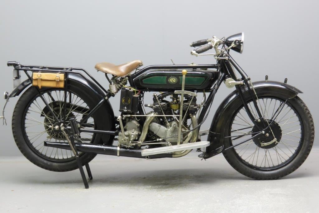 NSU 1927 model 502 touring 494cc 2 cyl ioe  2904