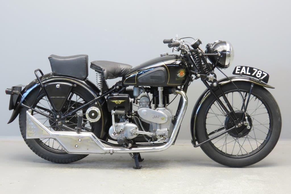 OK Supreme 1938 Model BC/38 348cc 1 cyl ohv  2904
