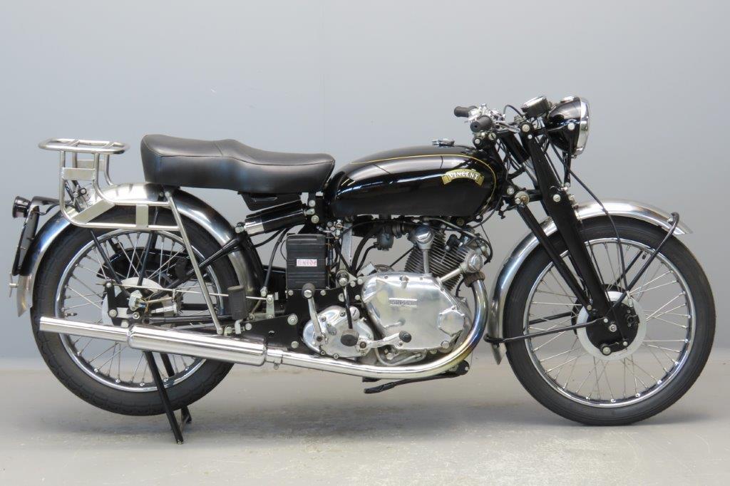 Vincent 1949 Comet 500cc 1 cyl ohv  2904