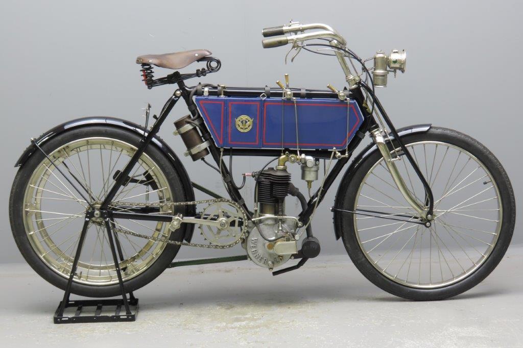 Werner 1904 3hp 344cc 1 cyl aiv  2904