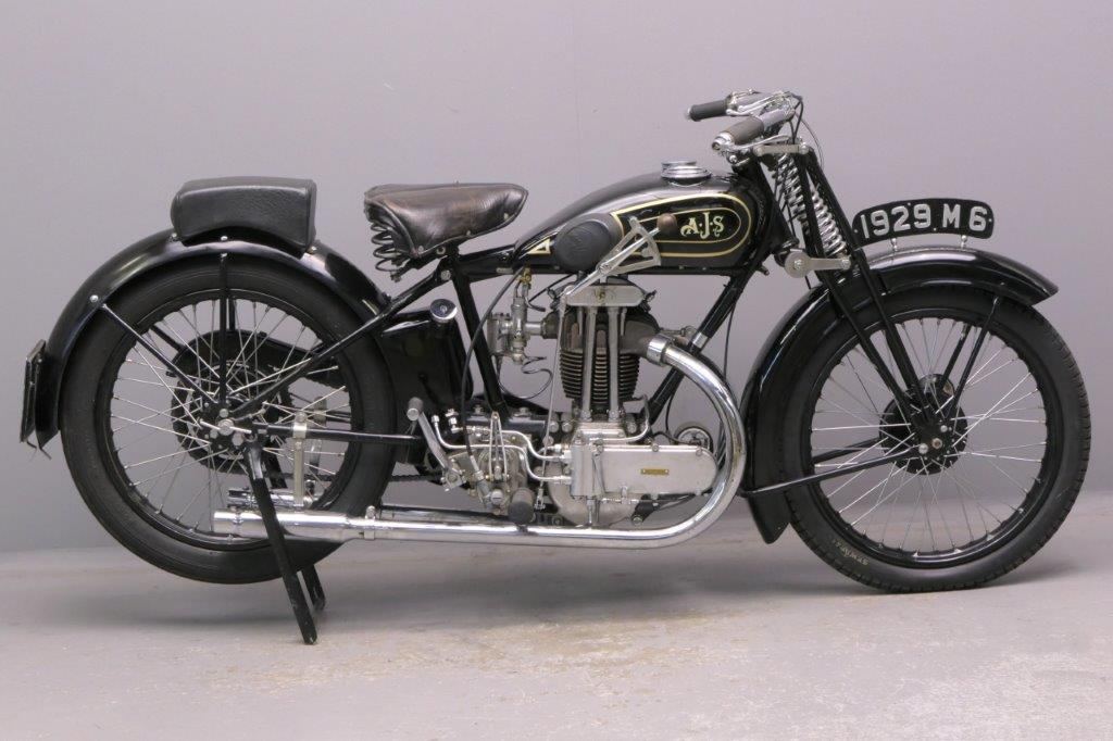 AJS 1929 M6 350cc 1 cyl ohv  2905