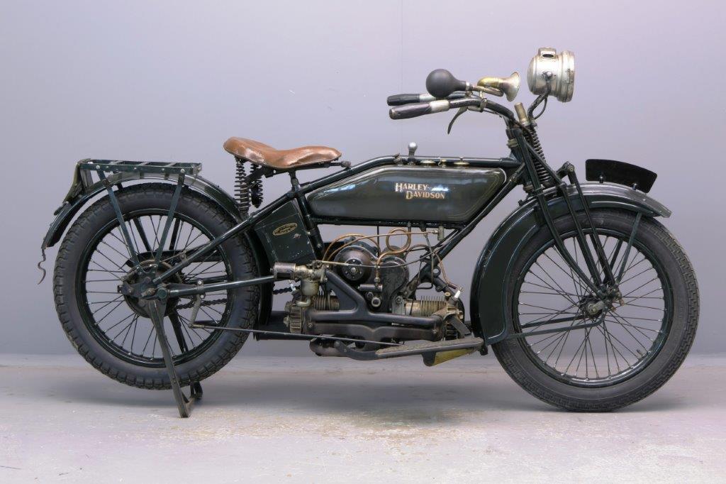 Harley Davidson 1923 WF 584cc 2 cyl sv  2905
