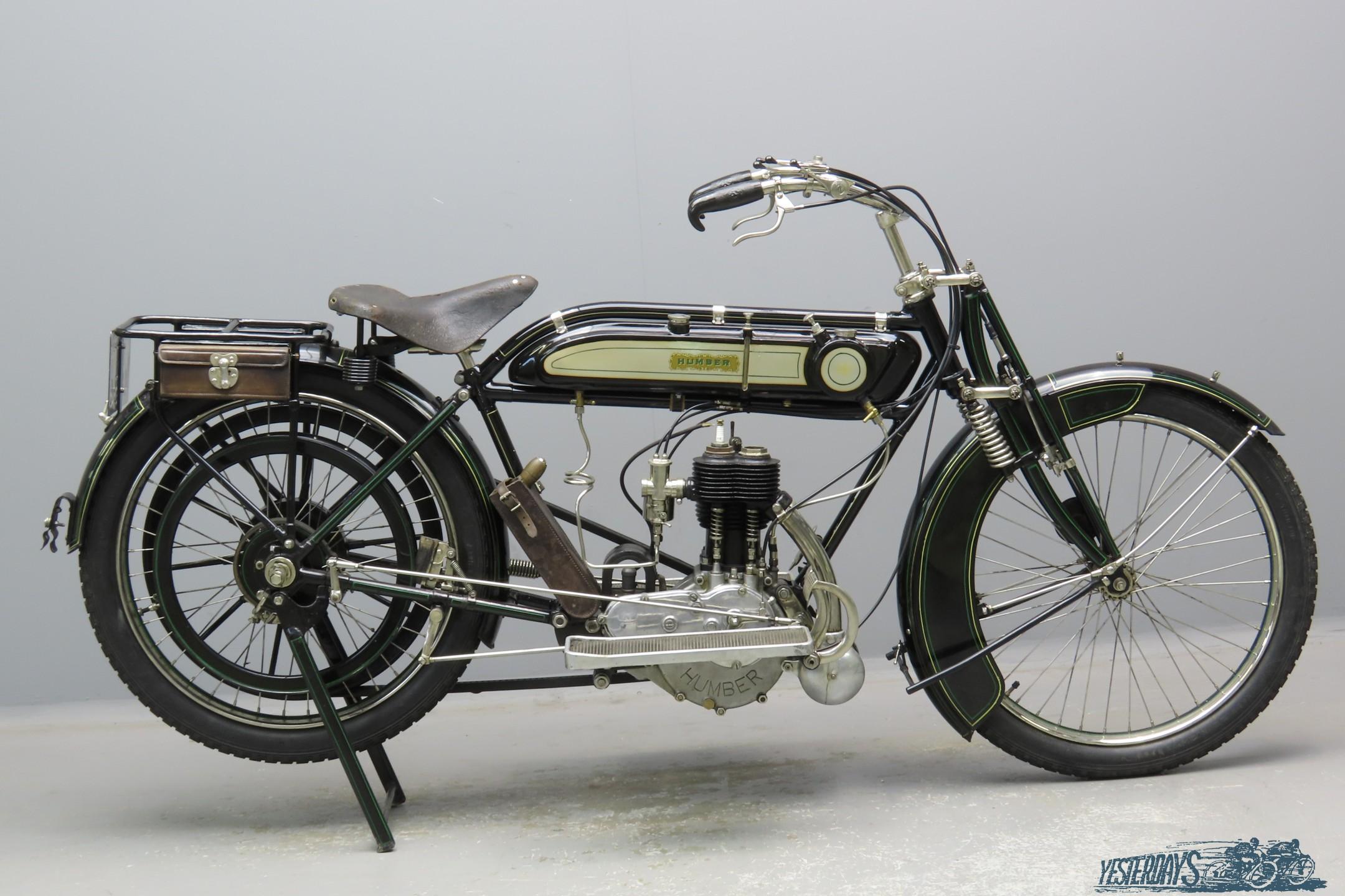 Humber 1911 3½hp 499cc 1 cyl sv  2905