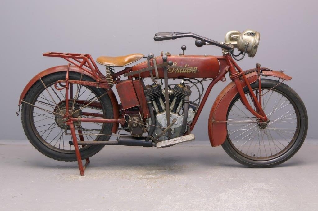Indian 1918 Powerplus 998cc 2 cyl sv  2905