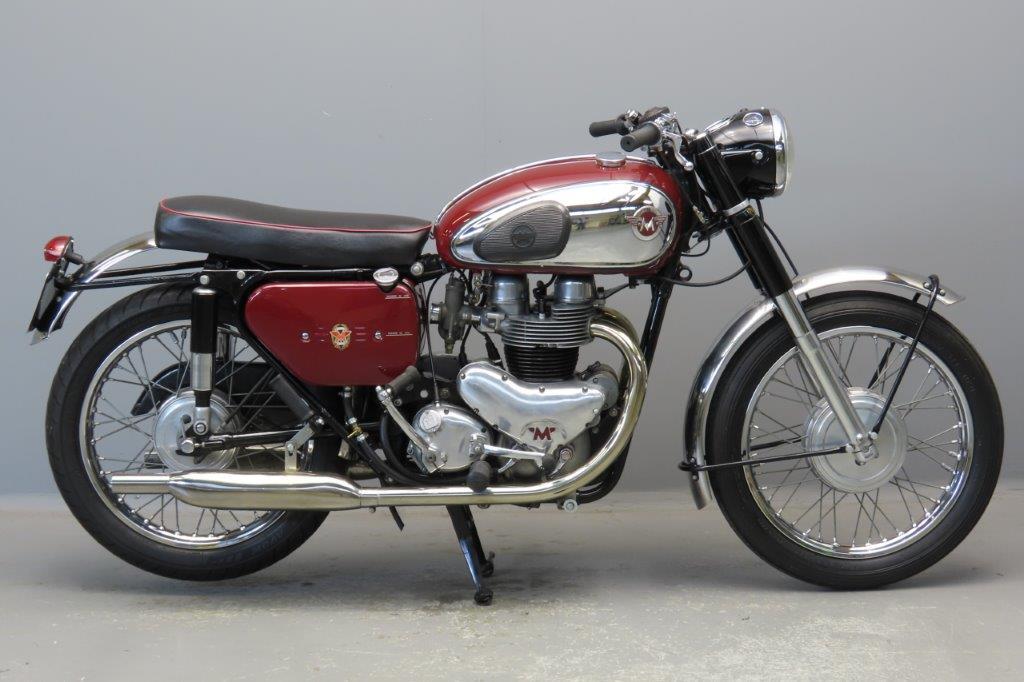 Matchless 1961 G12CSR  646cc 2 cyl ohv  2905
