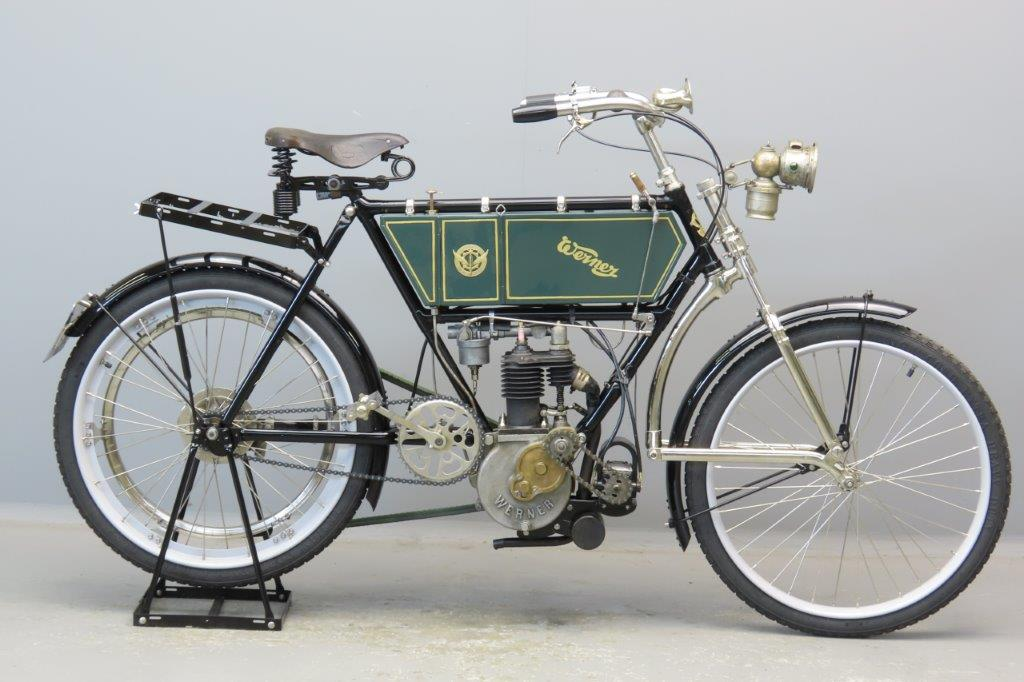 Werner 1906 Model Grand Luxe 429cc 2 cyl aiv  2905
