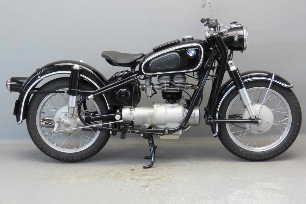 BMW 1960 R26  245cc 1 cyl ohv  2906