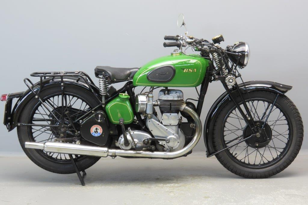 BSA 1939 M20 496cc 1 cyl sv  2906